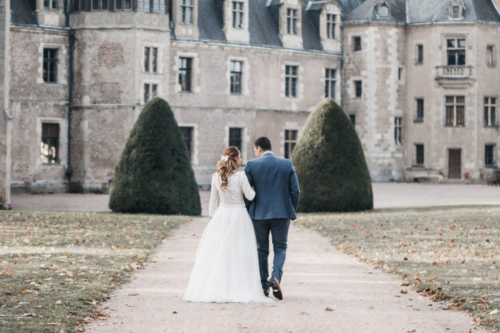 Il est temps pour les mariés de se retirer ! Julie Nagy Wedding Planner Lyon