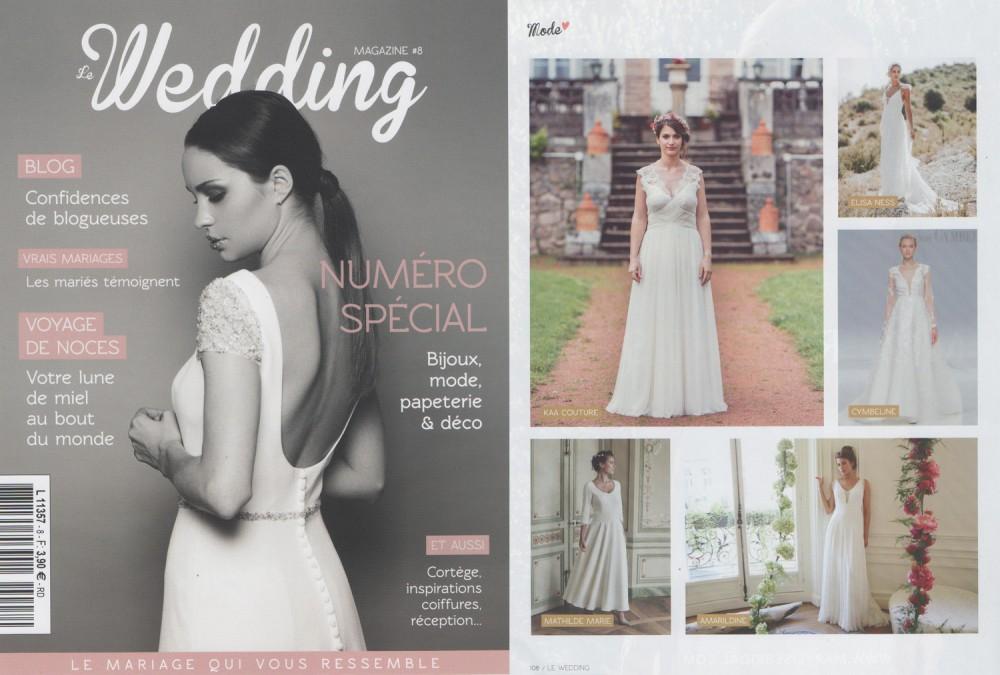 Magazine de mariage pour trouver des inspirations. Julie Wedding Planner Lyon.