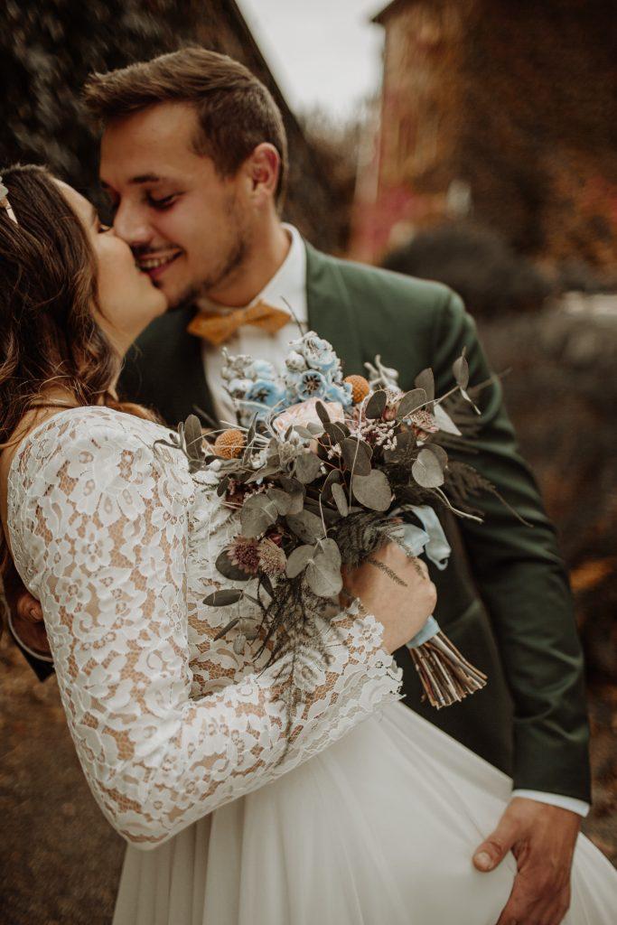 Etre une mariée sereine grâce à l'accompagnement d'une wedding planner.
