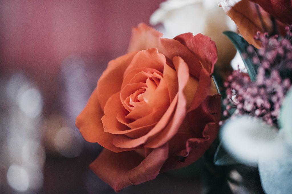 Décoration florale d'un mariage automnal. Julie Wedding Planner Lyon