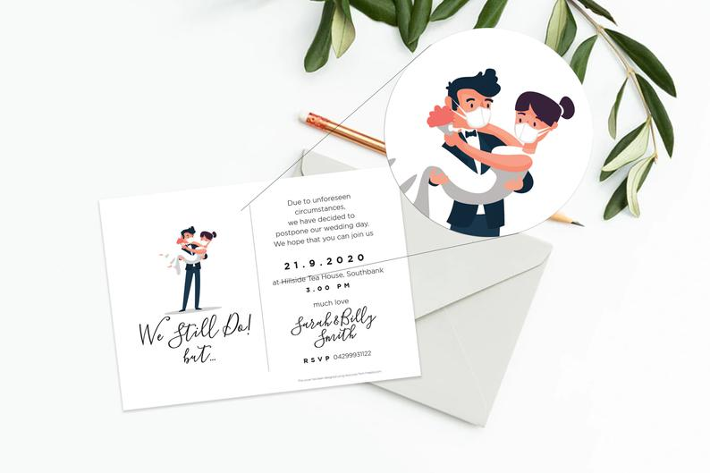 Change the date. Save the date. Report date de mariage. Julie Nagy Wedding Planner Lyon.