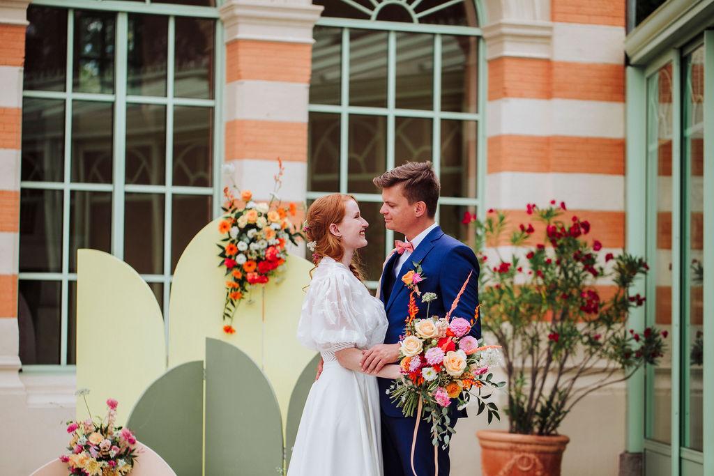 Cérémonie laïque pour un mariage proche de Lyon